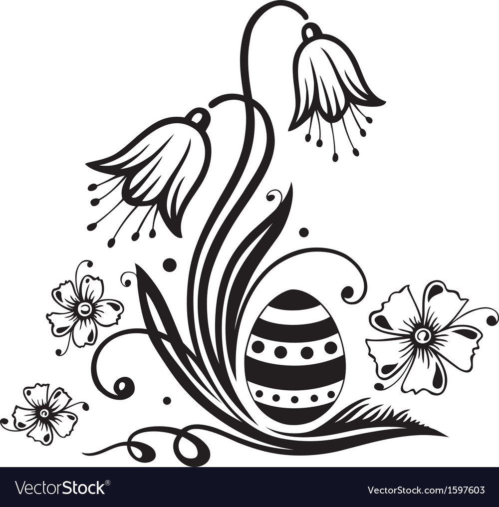 Easter easter egg vector | Price: 1 Credit (USD $1)