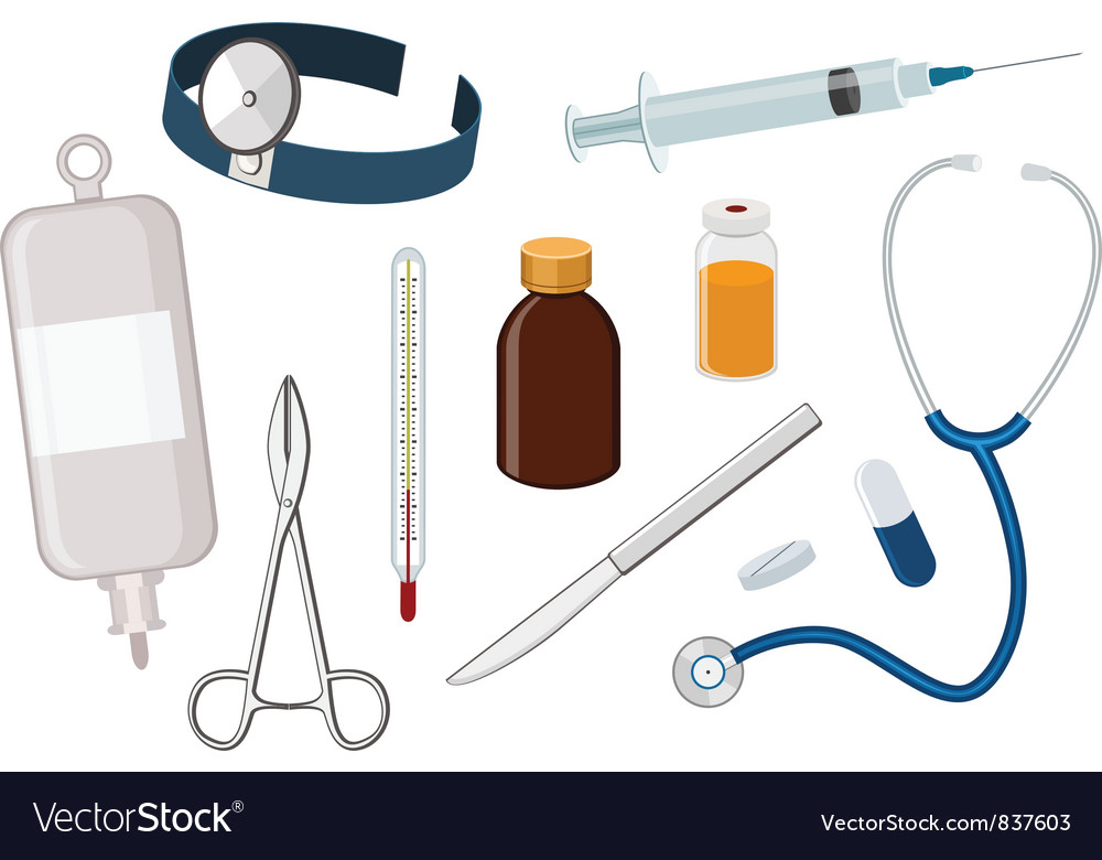 Medical tool vector | Price: 3 Credit (USD $3)