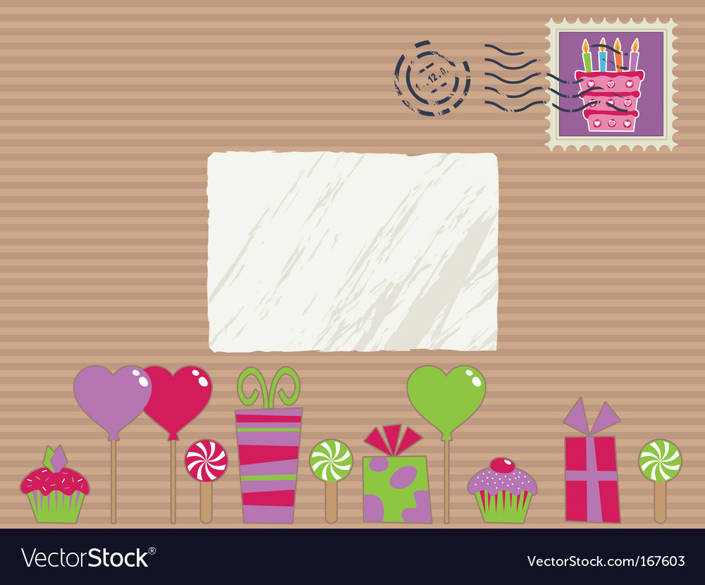 Party parcel vector | Price: 1 Credit (USD $1)