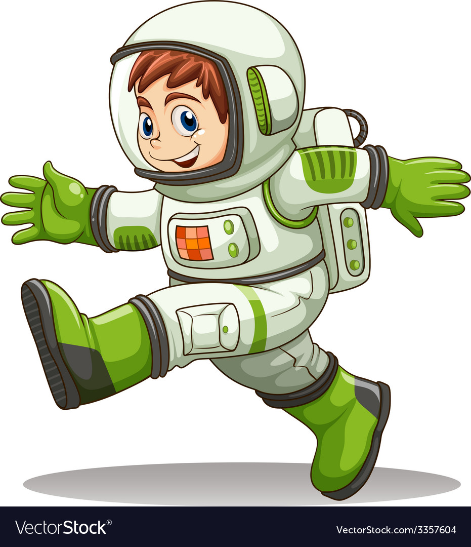 An astronaut vector | Price: 3 Credit (USD $3)