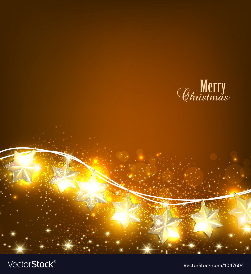 Christmas lights background vector | Price: 1 Credit (USD $1)