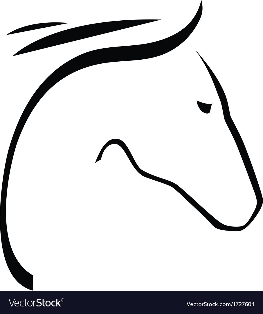 Contour of horse vector   Price: 1 Credit (USD $1)