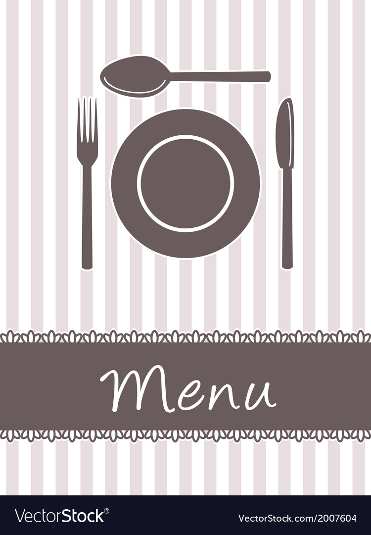 Kitchen menu vector | Price: 1 Credit (USD $1)