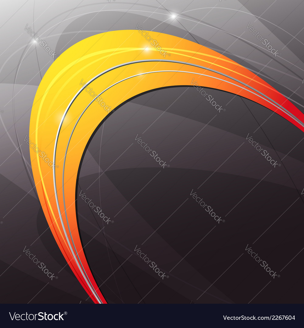 Metal orange abstract modern background vector | Price: 1 Credit (USD $1)