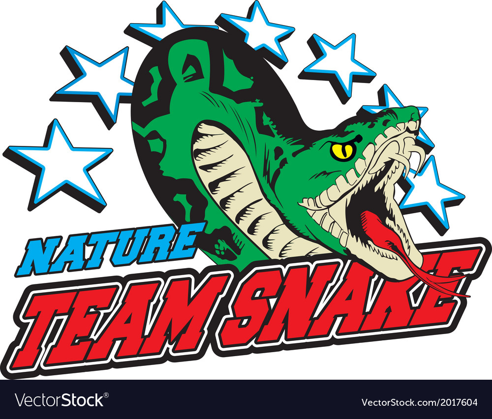 Team snake vector | Price: 1 Credit (USD $1)
