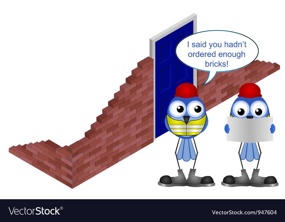Workers brick order vector | Price: 1 Credit (USD $1)