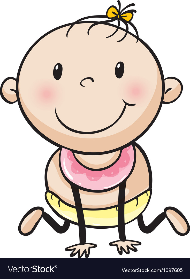 A baby vector | Price: 1 Credit (USD $1)