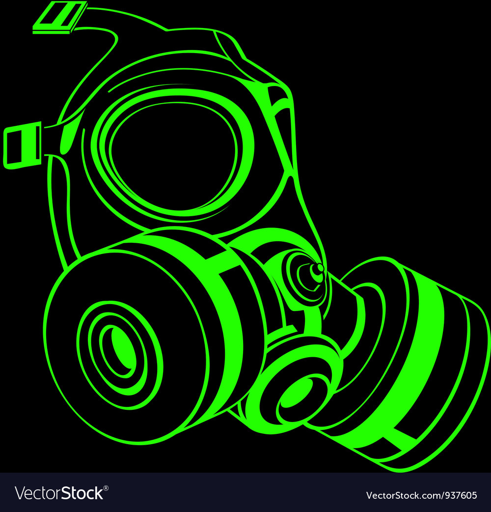 Gas mask vector | Price: 3 Credit (USD $3)