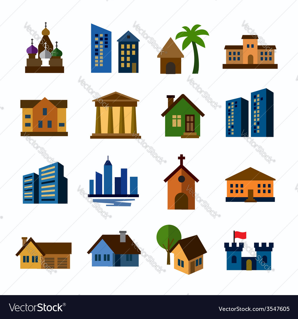 Hous icons vector | Price: 1 Credit (USD $1)