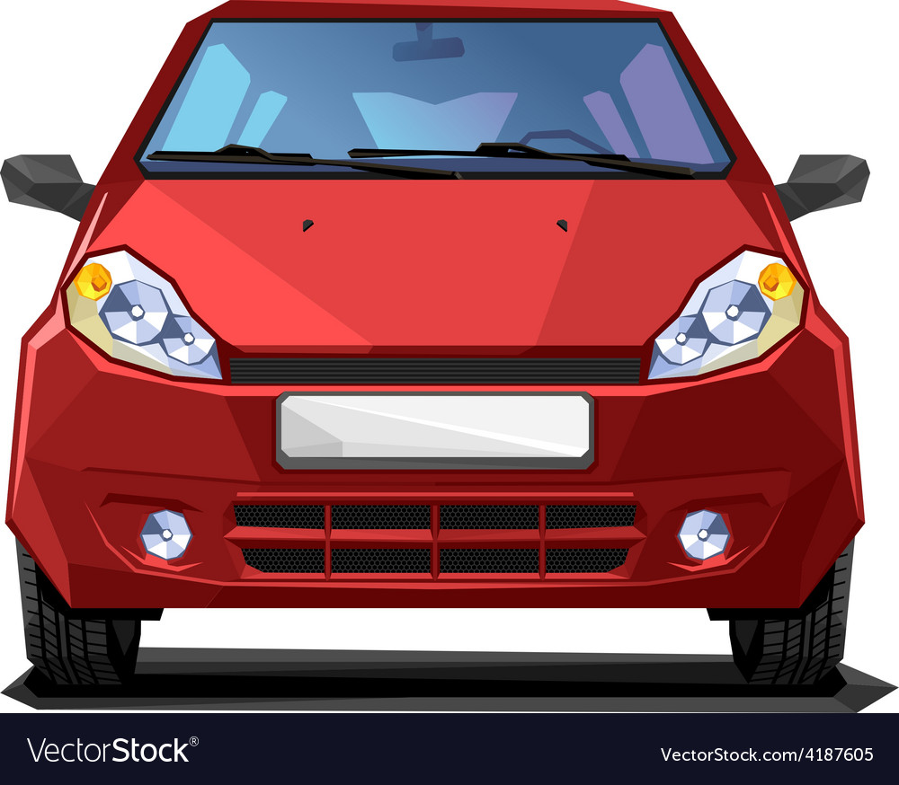 Red car vector   Price: 1 Credit (USD $1)