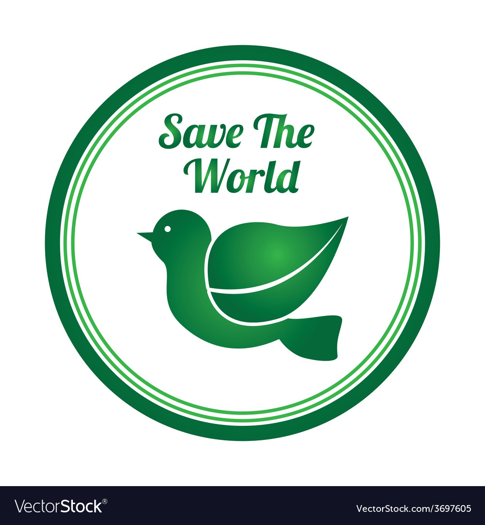 Save the animals design vector | Price: 1 Credit (USD $1)