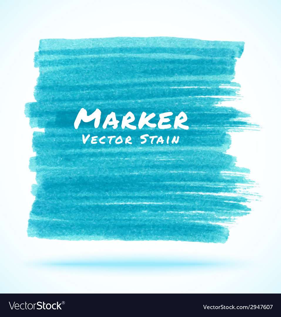 Blue light marker stain vector | Price: 1 Credit (USD $1)