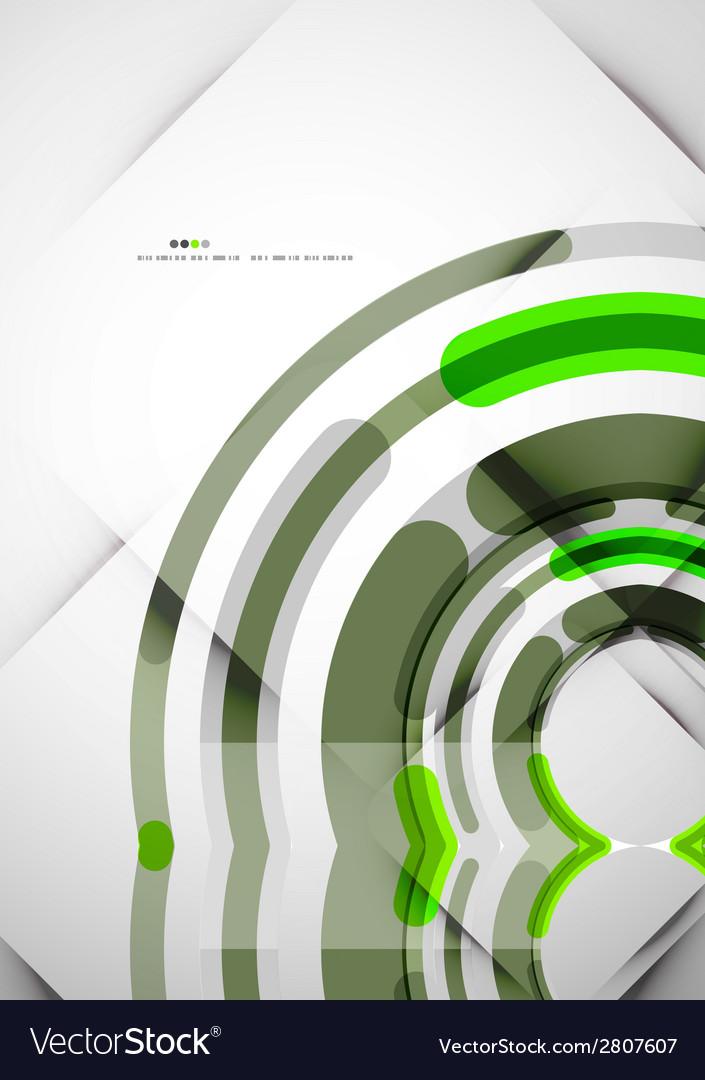 Futuristic rings background vector | Price: 1 Credit (USD $1)