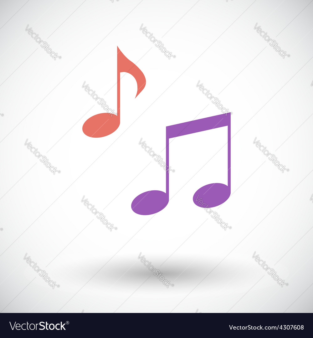 Note flat icon vector | Price: 1 Credit (USD $1)