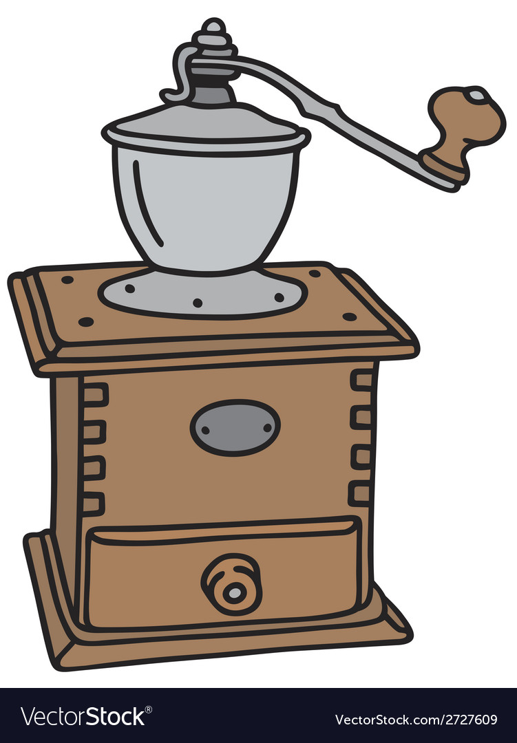 Coffee grinder vector | Price: 1 Credit (USD $1)