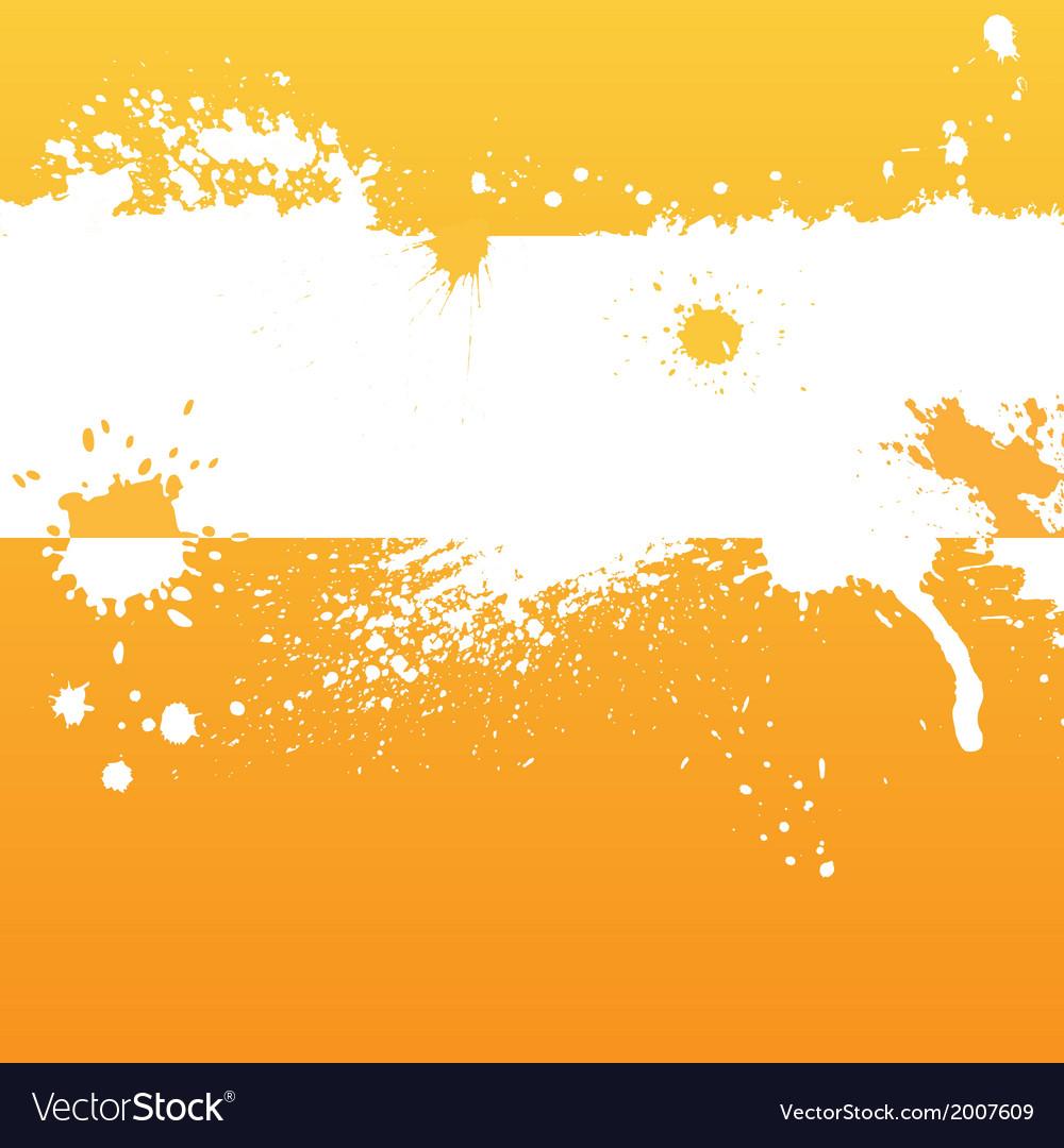 Orange ink background vector | Price: 1 Credit (USD $1)