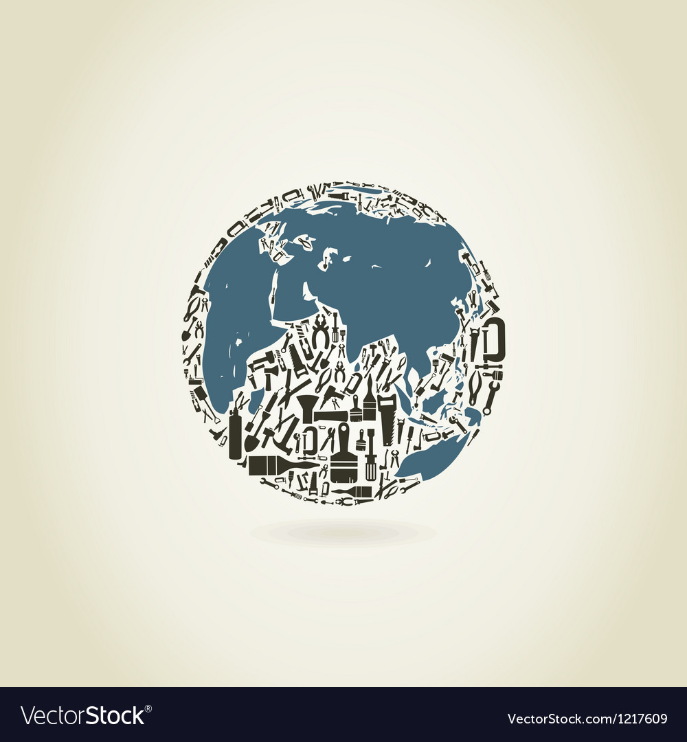 Tool a planet vector   Price: 1 Credit (USD $1)