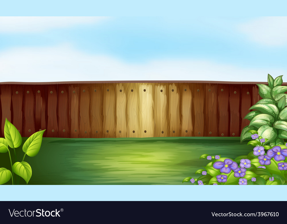 Backyard vector | Price: 1 Credit (USD $1)