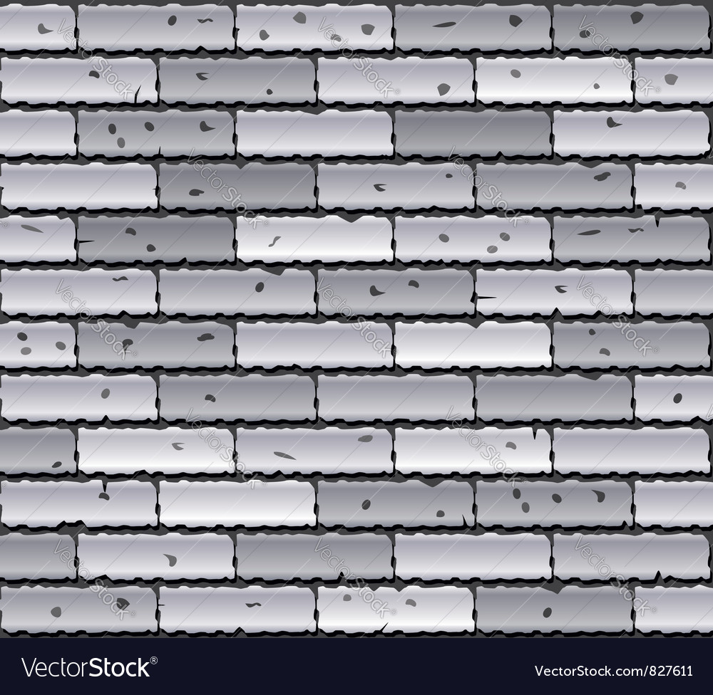 Gray brick wall vector | Price: 1 Credit (USD $1)