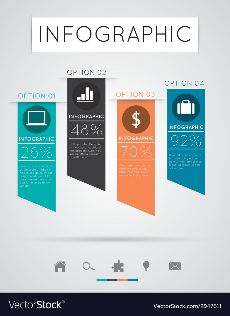Modern infographics vector | Price: 1 Credit (USD $1)