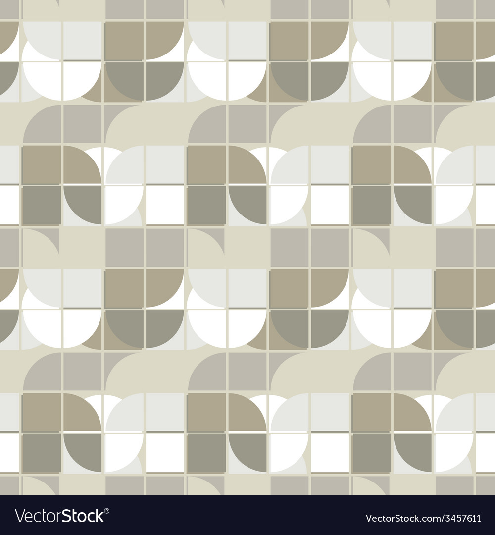 Neutral geometric background ornament abstract vector | Price: 1 Credit (USD $1)