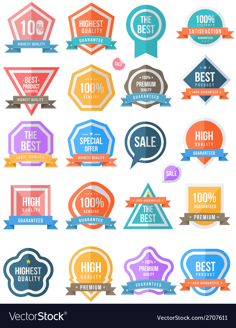 Tag label collection simply vector | Price: 1 Credit (USD $1)