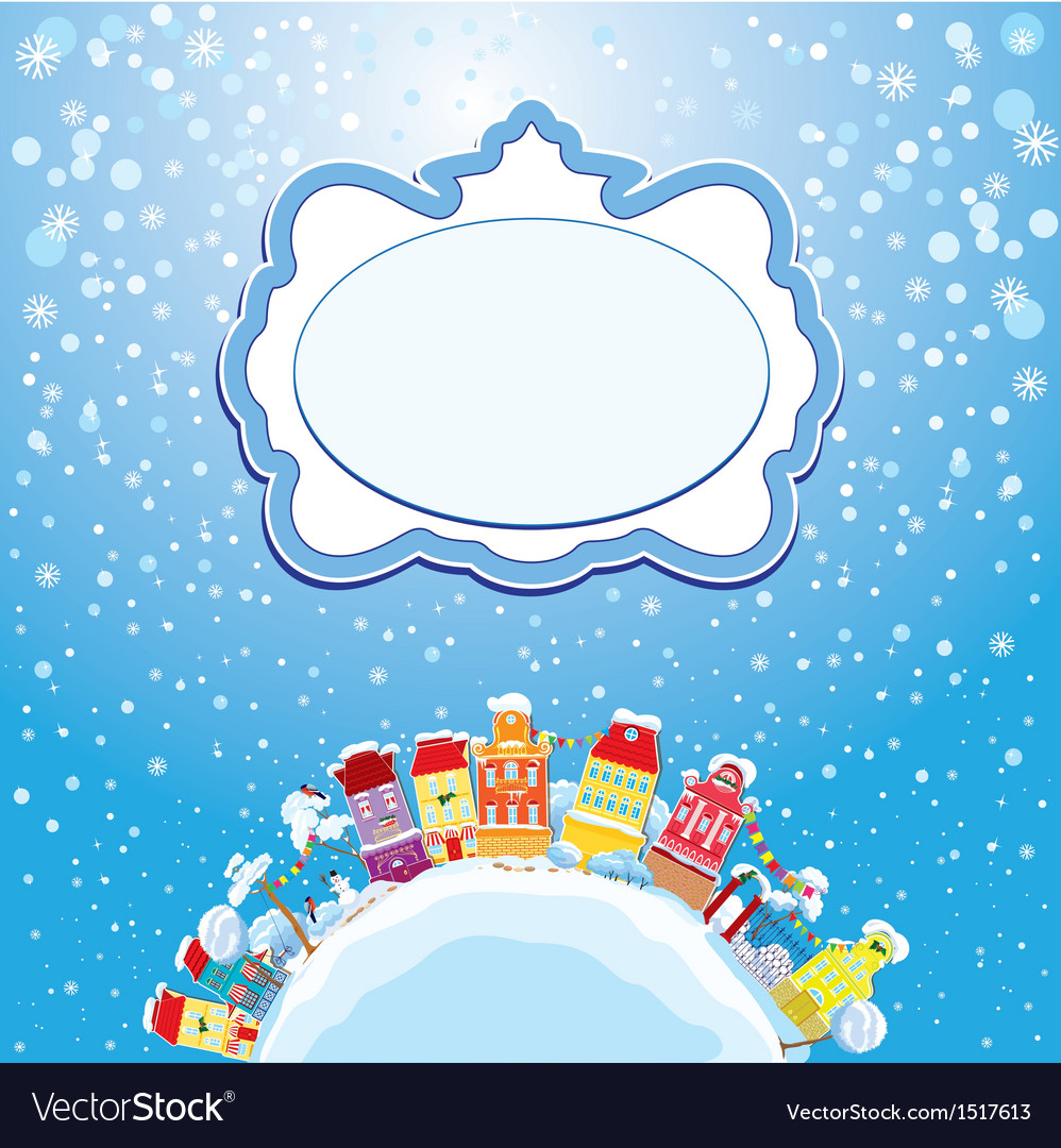 Christmas and new year holidays card vector | Price: 3 Credit (USD $3)