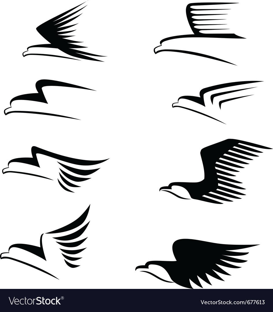 Eagle sign vector | Price: 1 Credit (USD $1)