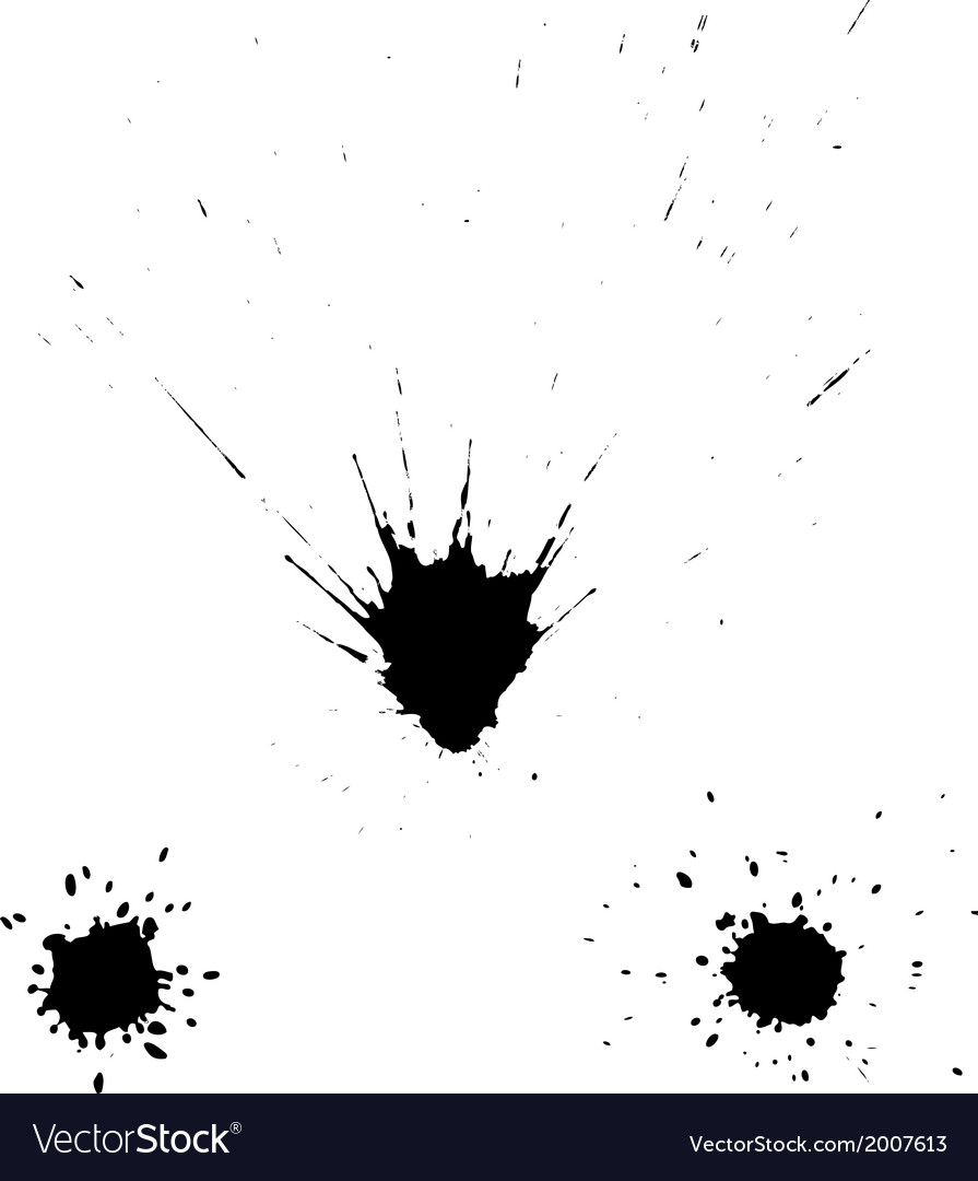 Ink blots vector | Price: 1 Credit (USD $1)