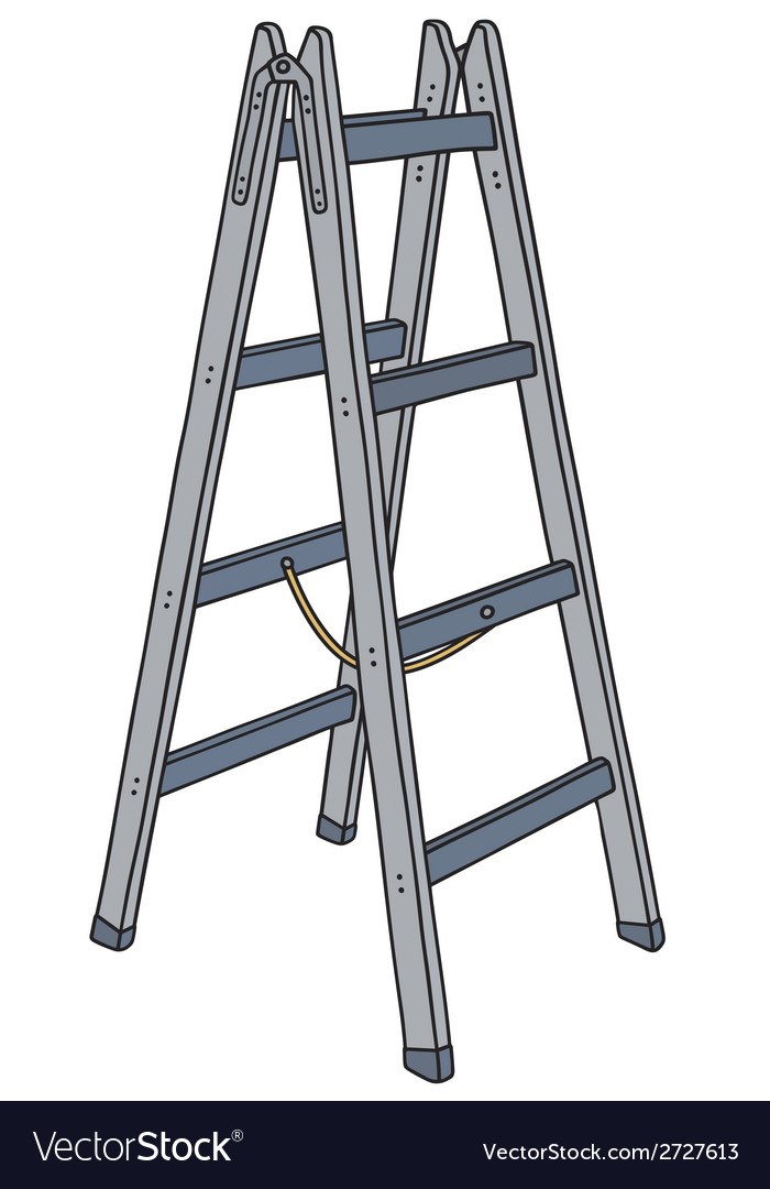 Metal ladder vector | Price: 1 Credit (USD $1)