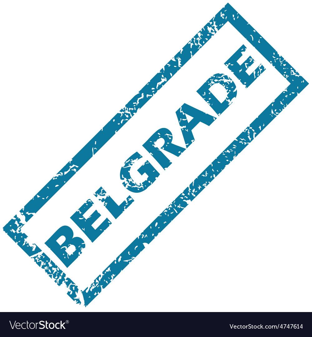 Belgrade rubber stamp vector | Price: 1 Credit (USD $1)