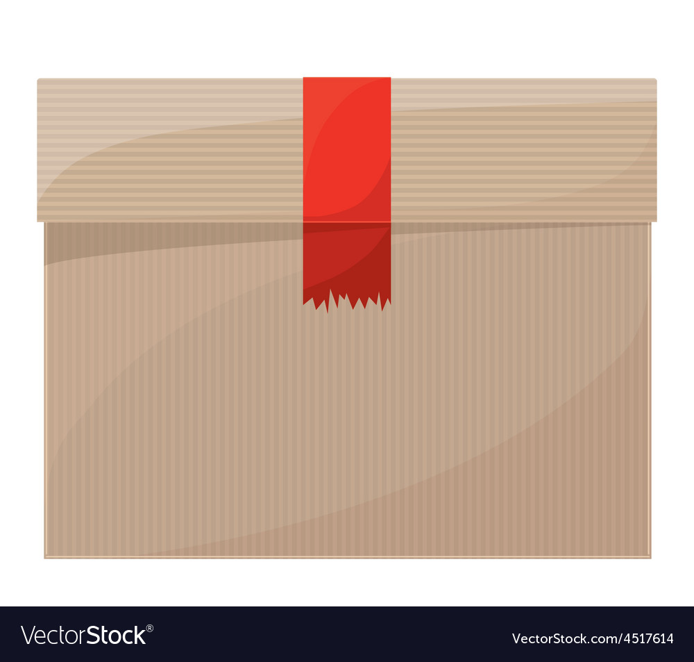 Delivery package vector | Price: 1 Credit (USD $1)