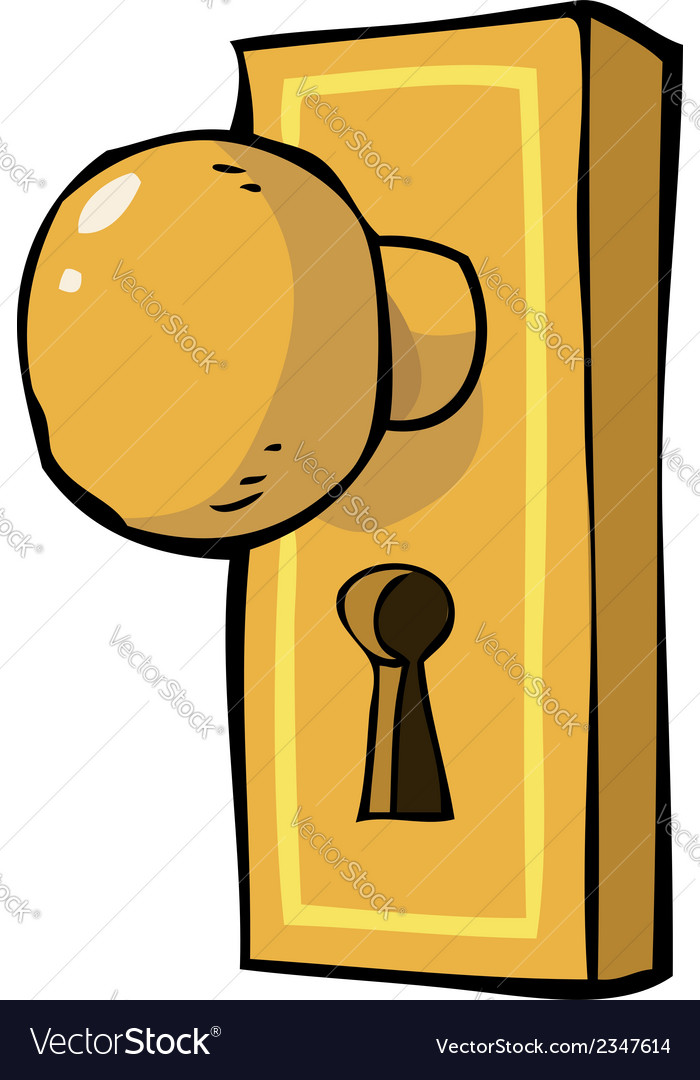 Doorhandle vector | Price: 1 Credit (USD $1)