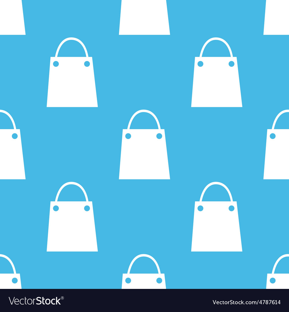 Shopping bag pattern vector   Price: 1 Credit (USD $1)