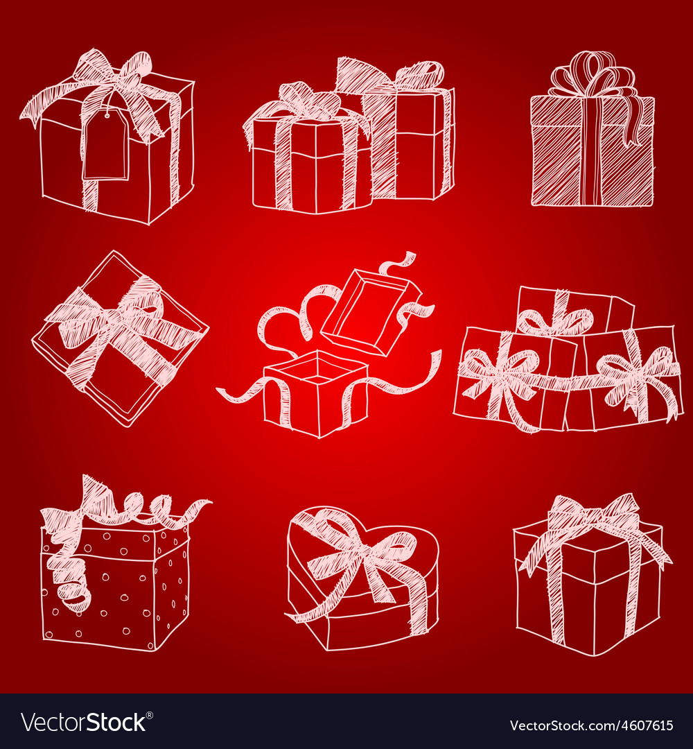 Gift box2 vector | Price: 1 Credit (USD $1)
