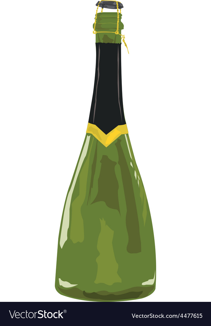 Sparkling wine vector | Price: 1 Credit (USD $1)