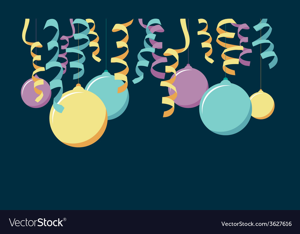 Balloon banner vector | Price: 1 Credit (USD $1)