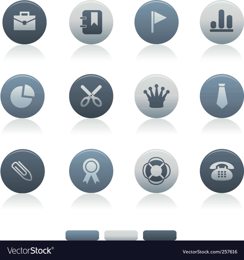 Circle icons vector | Price: 1 Credit (USD $1)