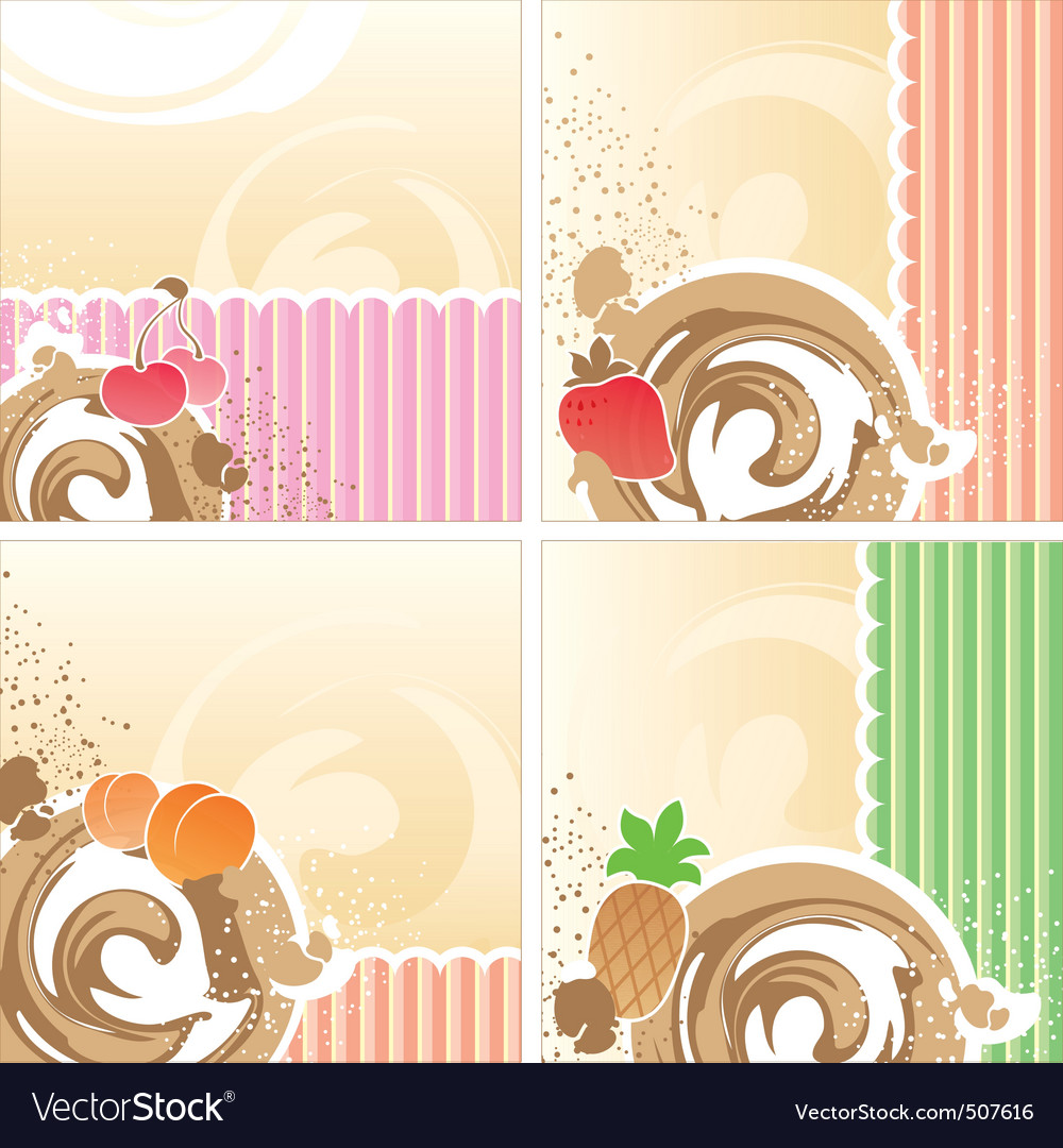 Dessert vector | Price: 1 Credit (USD $1)