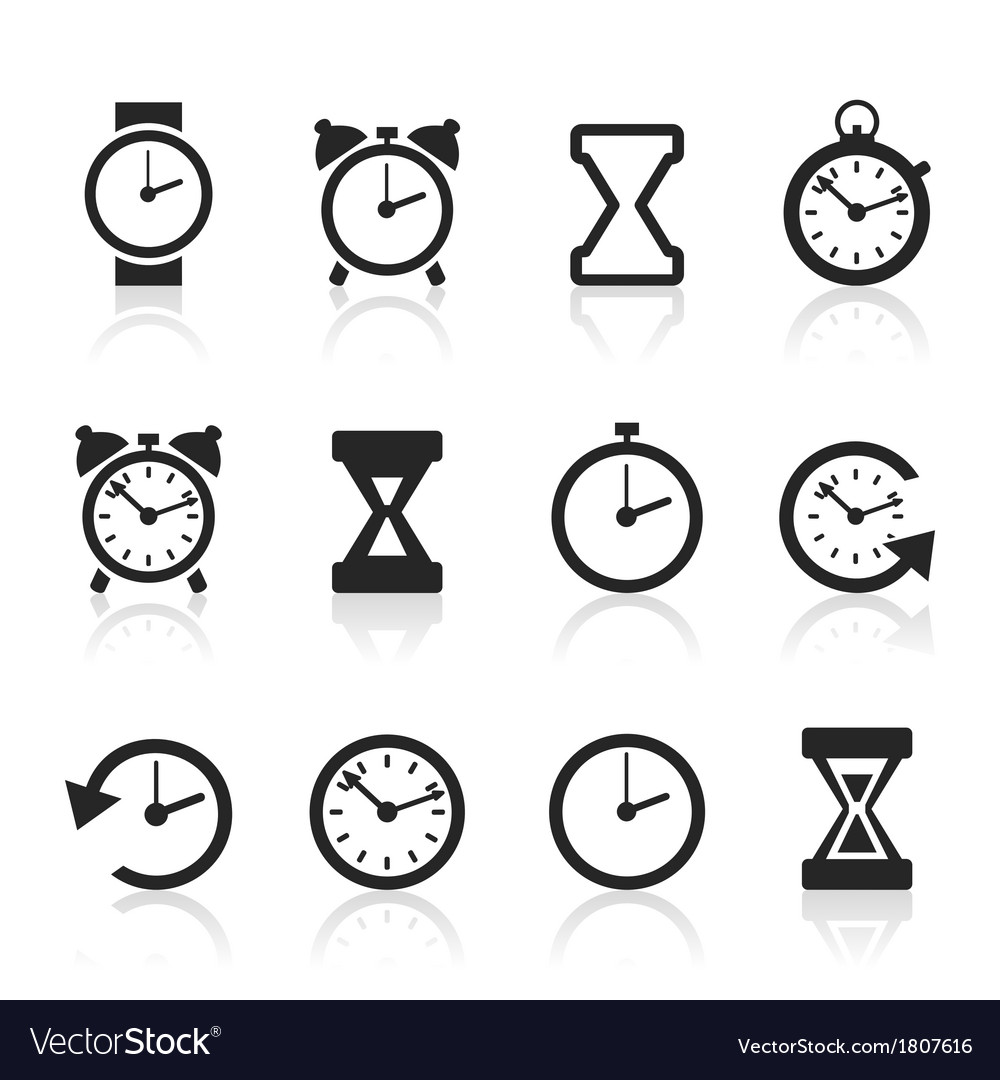 Hours an icon2 vector | Price: 1 Credit (USD $1)