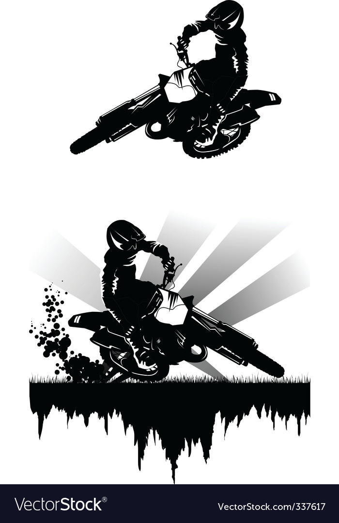 Motocross vector | Price: 3 Credit (USD $3)