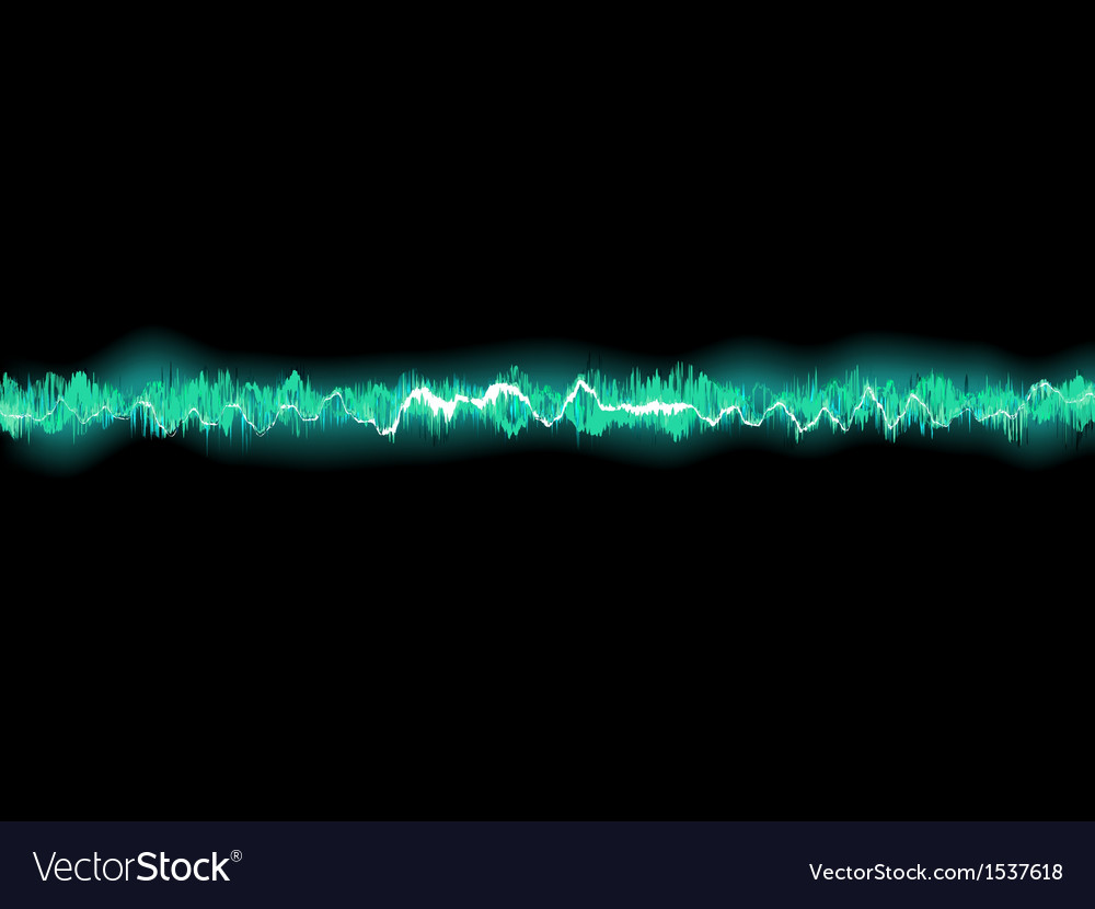 Abstract blue waveform eps 8 vector | Price: 1 Credit (USD $1)