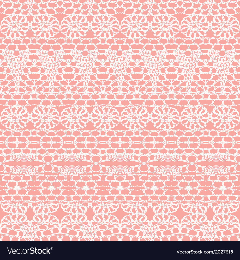 Lace seamless crochet pattern vector | Price: 1 Credit (USD $1)
