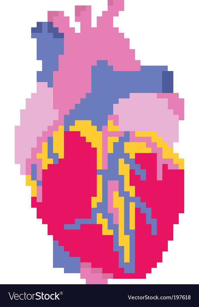 Pixel heart vector   Price: 1 Credit (USD $1)