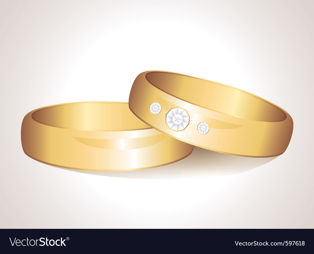 Realistic rings vector | Price: 3 Credit (USD $3)