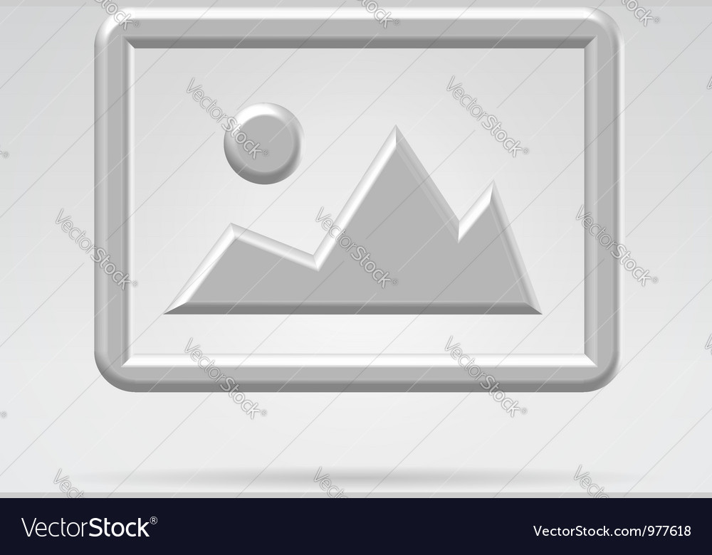 Silver metal image symbol vector | Price: 1 Credit (USD $1)