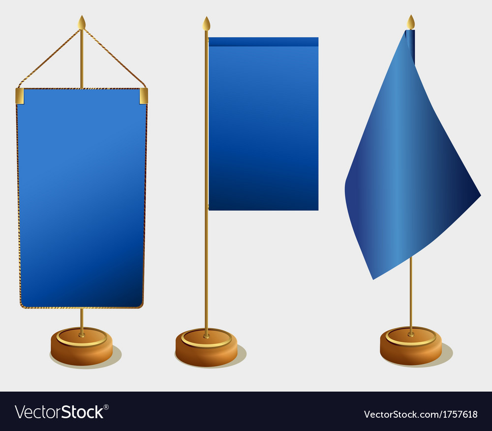 Table flags vector | Price: 1 Credit (USD $1)