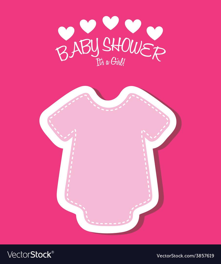 Baby shower vector   Price: 1 Credit (USD $1)