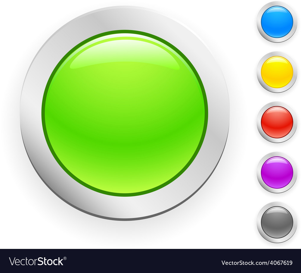 Button vector | Price: 1 Credit (USD $1)