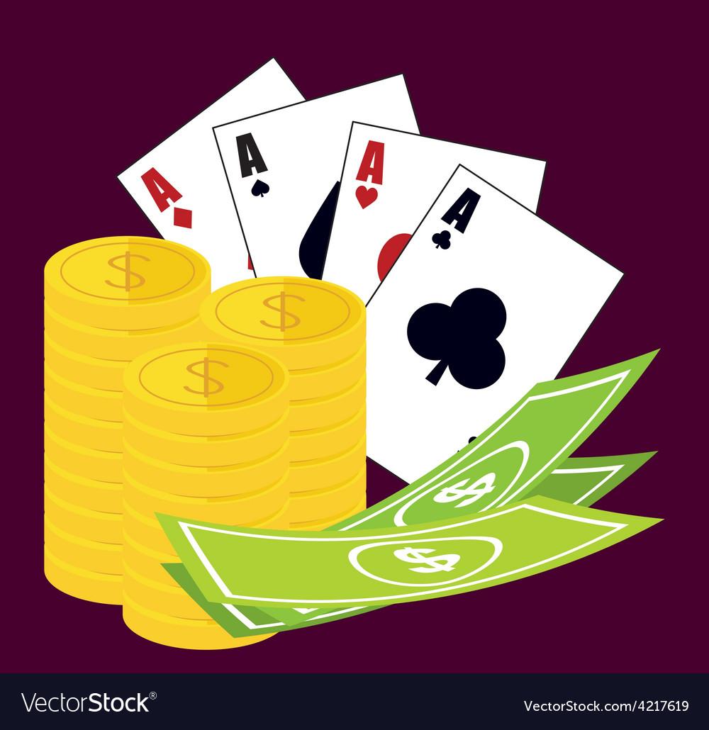 Casino design vector | Price: 1 Credit (USD $1)